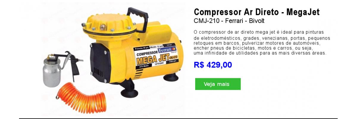 Compressor Megajet CMJ-210