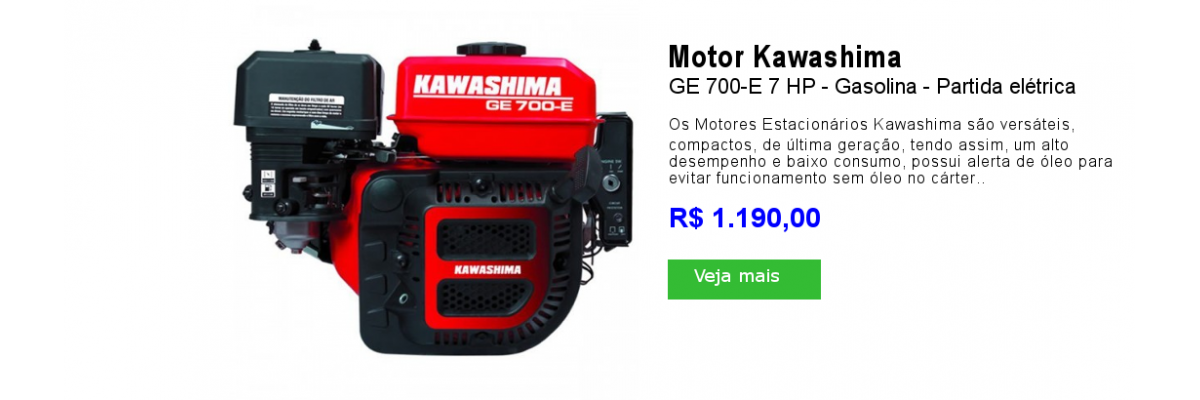 Motor Kawashima GE700