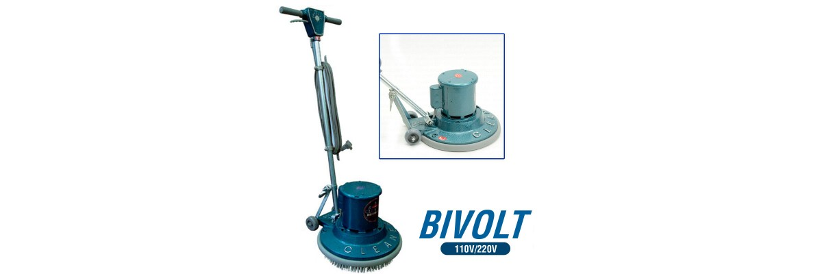Enceradeira Industrial Cleaner – 0,75 HP – CL350 110v