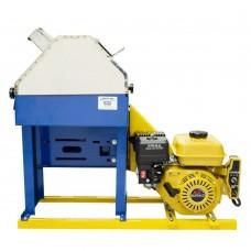 Moenda de cana rolo inox Maqtron 721 c/ motor à gasolina partida elétrica
